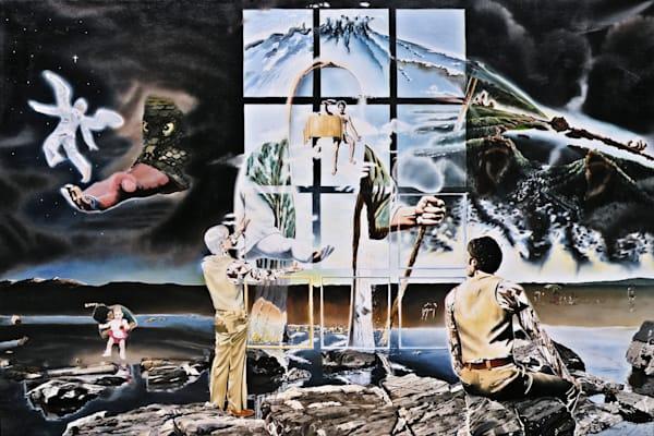 Windows of Allegory - Original Oil Painting