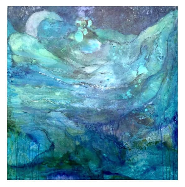 Midnight Swim Art | Annie Lockhart Art