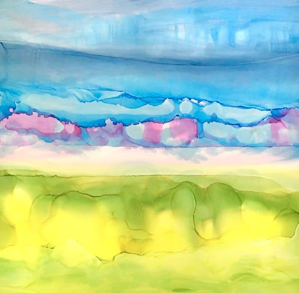 Spring Meditation, Original Art   Sandy Smith Gerding Artwork