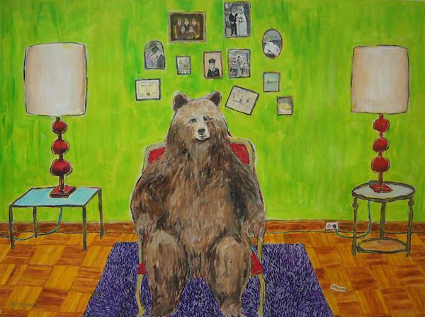 The Chair Art | Mystery Dinosaur Productions/Fae Yamaguchi Art