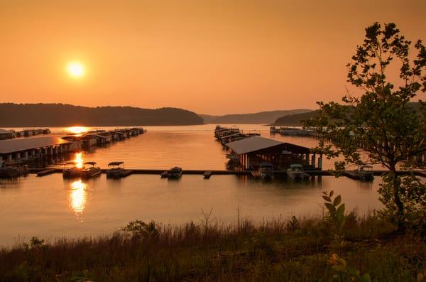 Lake Cumberland Sunset 9377full