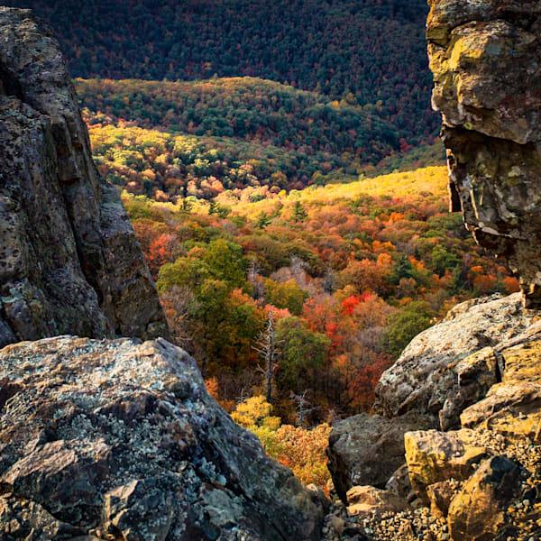 Rock Window to Autumn