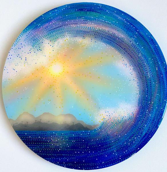 waves, surf, surf-painting, ocean-art, resin, water, sun, sunshine
