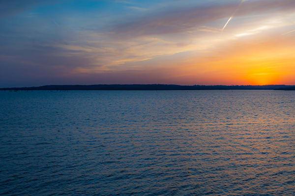 Blue Hour Sunset Photography Art | Silver Spirit Photography