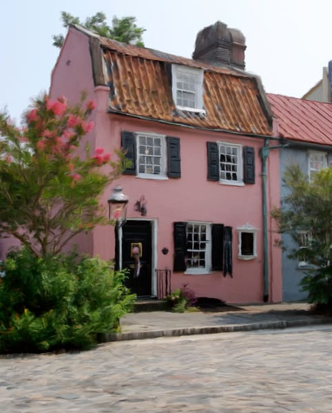 The Pink Charleston House