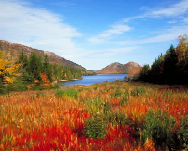 Jordan Pond, Autumn