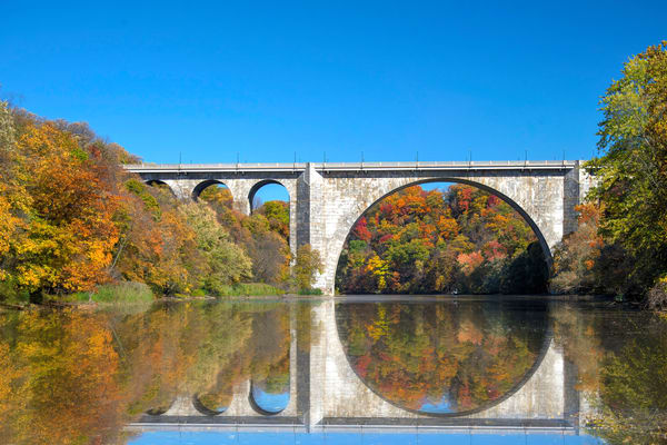 Veterans Bridge Genesee River Gorge