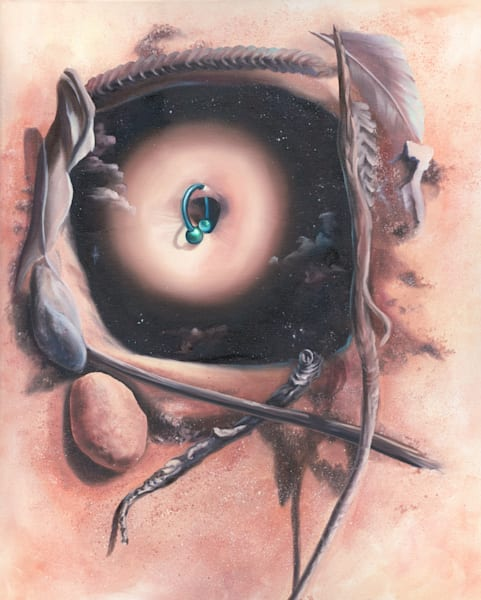 Connected To Mother Art | Valerieann Giovanni - Fine Art
