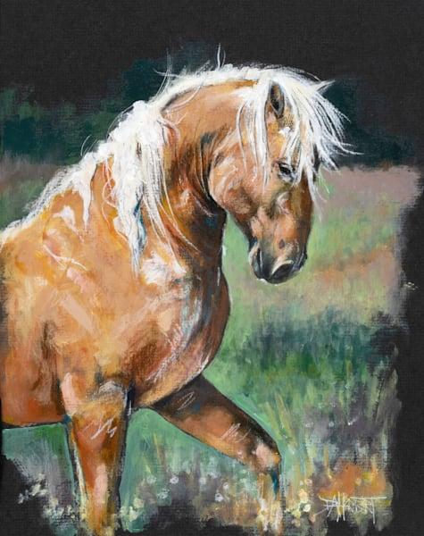 """Wild Gold"" (Dorian) Art | debherbertart"