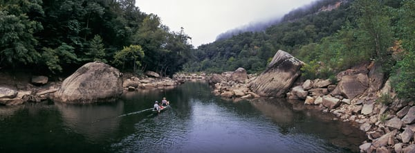 Canoeing the Big South Fork