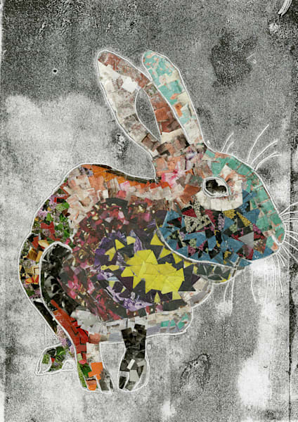 Rainbow Rabbit    5 Card Set | Luanne C Brown