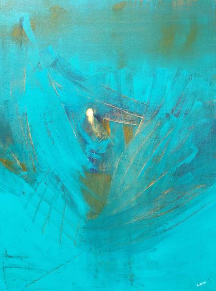 Elijah, Print Art | Anne Reid Artist