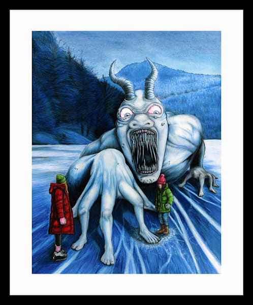 Ice Monster Art | RPAC Gallery