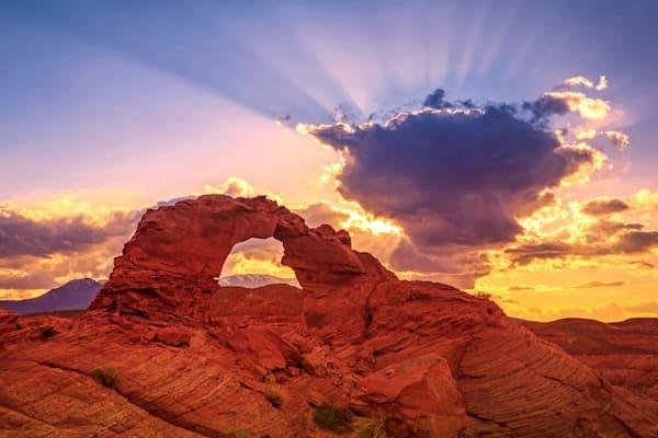 arsenic sunset rays