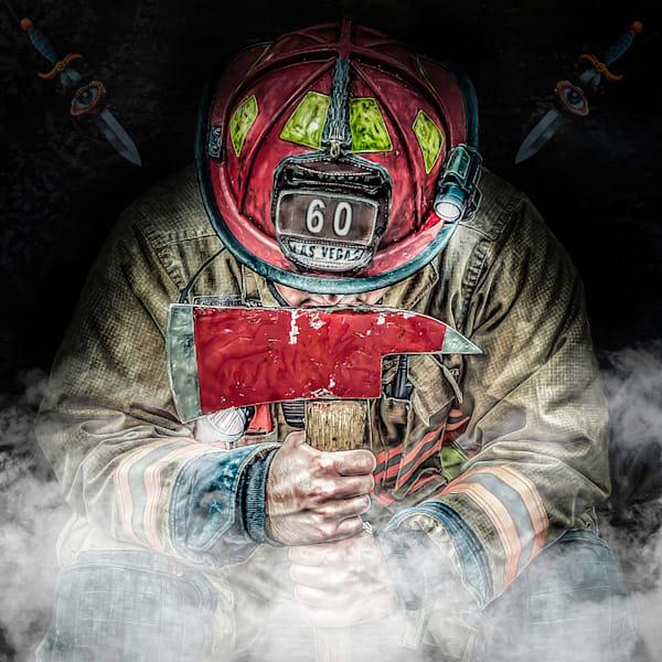 Firefighter 60 Art   DanSun Photo Art