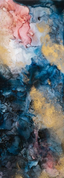 Ink and Resin Modern Wall Art