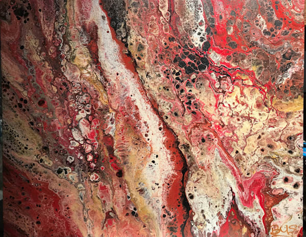 Red Planet (Zymurgy) Art | Abstraction Gallery by Brenden