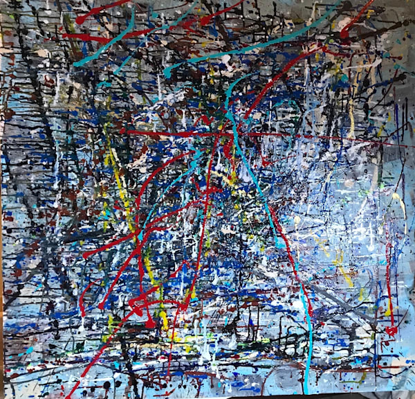 Map That Leads To You Art | Abstraction Gallery by Brenden