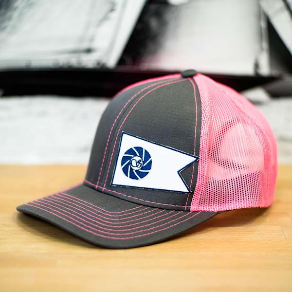 Pink Silken Burgee Hat | Cory Silken Photography