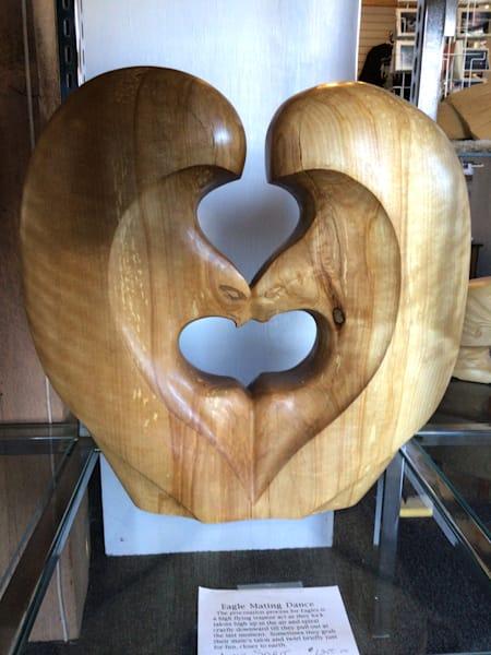 Love Eagles Carving | treshamgregg - spiritart