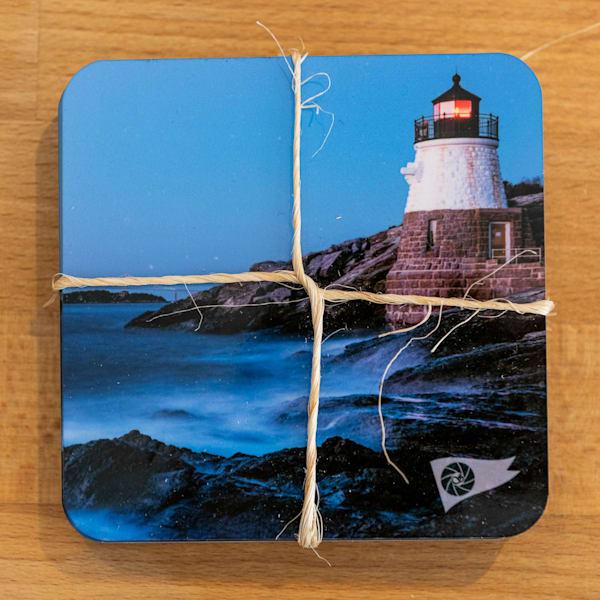 Castle Hill Lighthouse Coasters | Cory Silken Photography