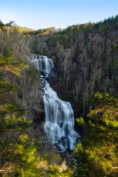 Print of Whitewater Falls At Sunrise