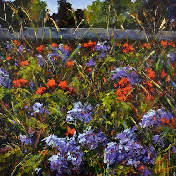Vienna Wildflowers Art | Jenn Hallgren Artist