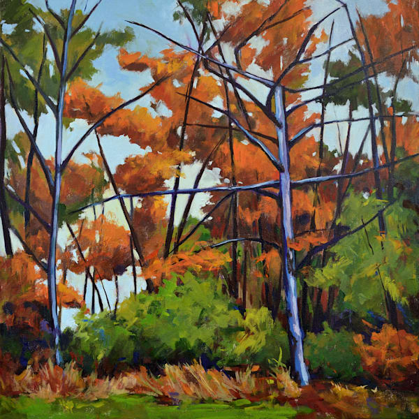 On The Way To The Michener Museum Art | Jenn Hallgren Artist