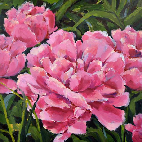 Pink Peonies Art | Jenn Hallgren Artist