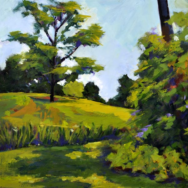 Landscape At Winterthur Art | Jenn Hallgren Artist