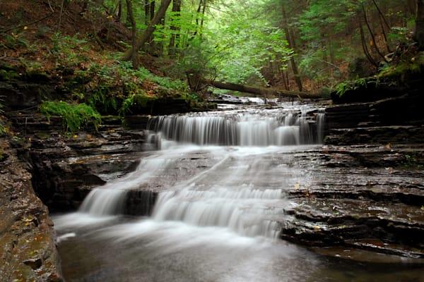 Waterfall In Steuben County, Ny Photography Art | RAndrews Photos