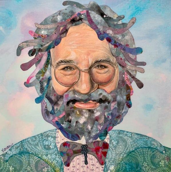 Jerry Garcia, Melt Into A Dream Art | Karen Payton Art