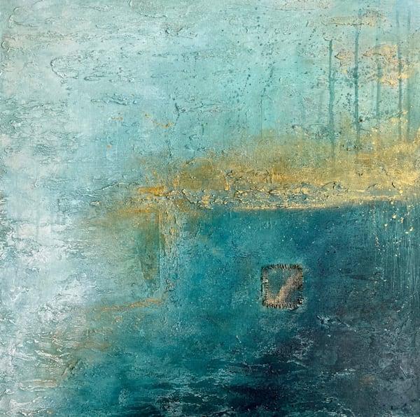 Golden Blues Art | Peggy Leigh Art