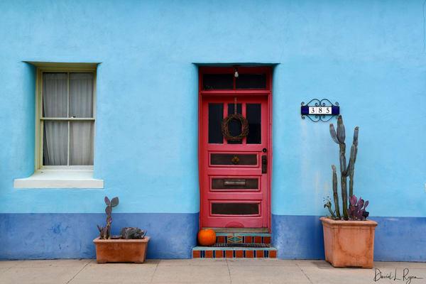 Red Door, Blue Wall