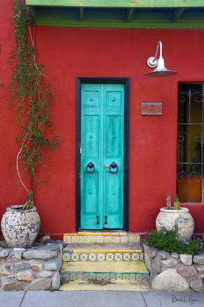 Red House - Blue Door