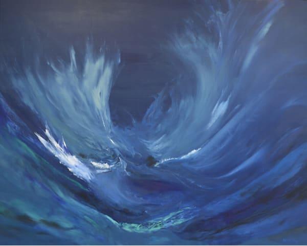 waves, waves, energy, oil painting, art prints, witzling