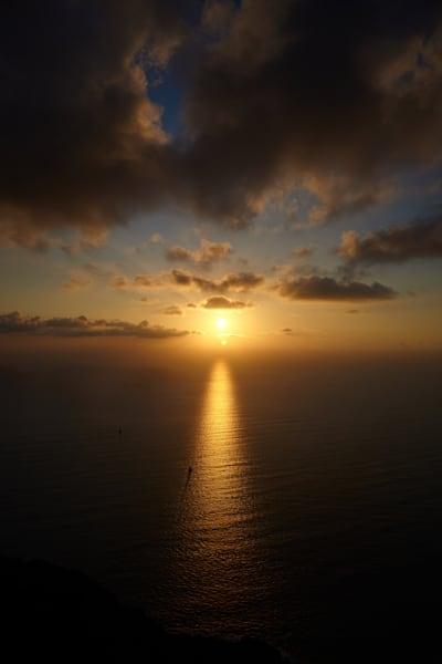 Stromboli Sunset Photography Art | Jordan-Lee Garbutt