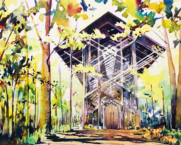 Thorncrown Chapel Art | Steven Dragan Fine Art