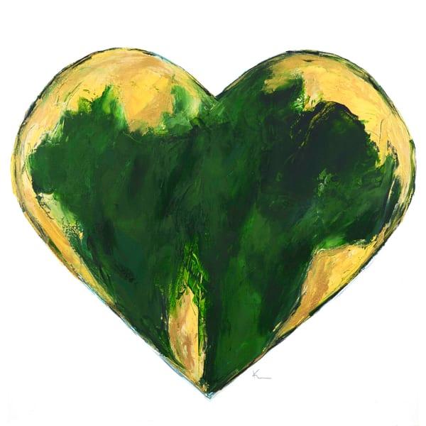 Green & Gold Art | kellymerkurart