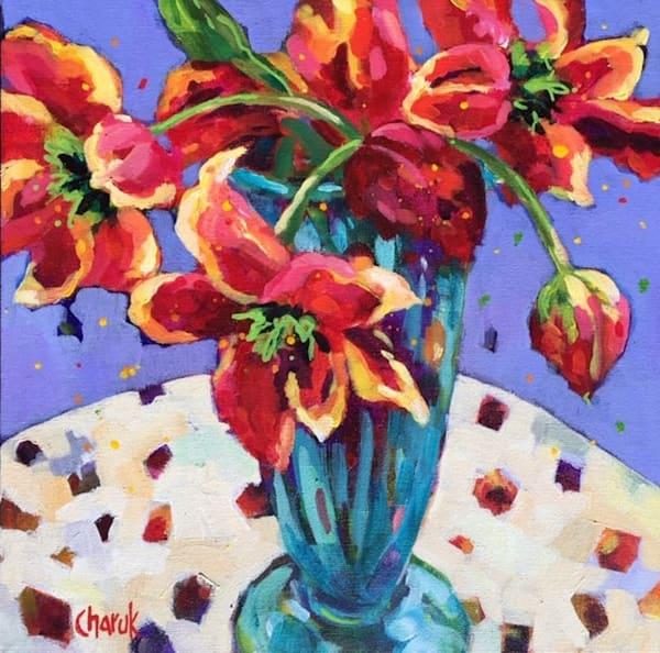 Confetti Tulips Art | Jill Charuk Art