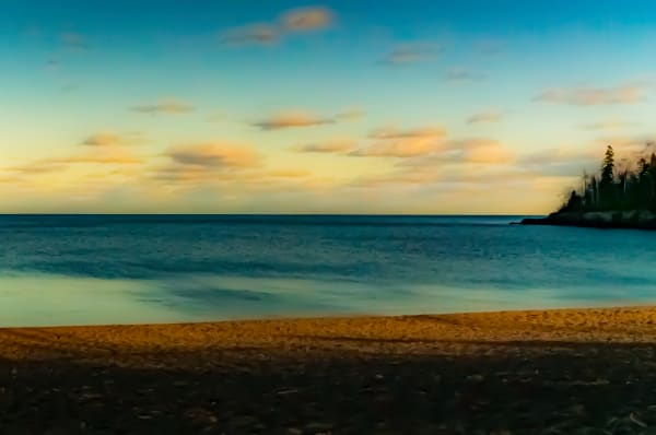 Late Day Lake Superior Photography Art | Silver Spirit Photography
