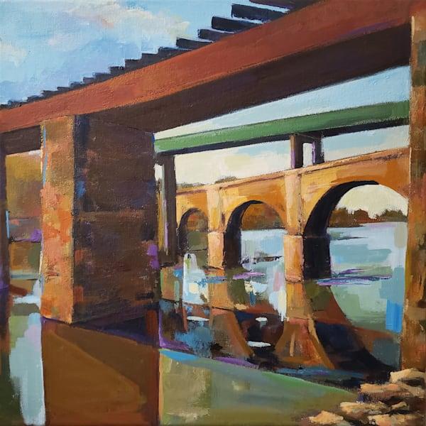 Schulkill Bridges Art | Jenn Hallgren Artist