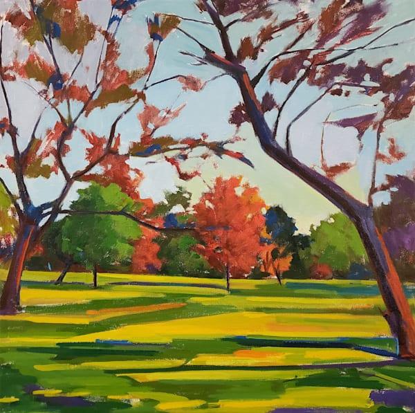 Merion Botanical Park Print Art | Jenn Hallgren Artist