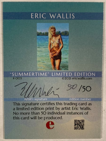 Summer Time Trading Card No. 003