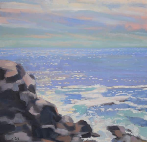 Maine Rocks Art | Sharon Guy