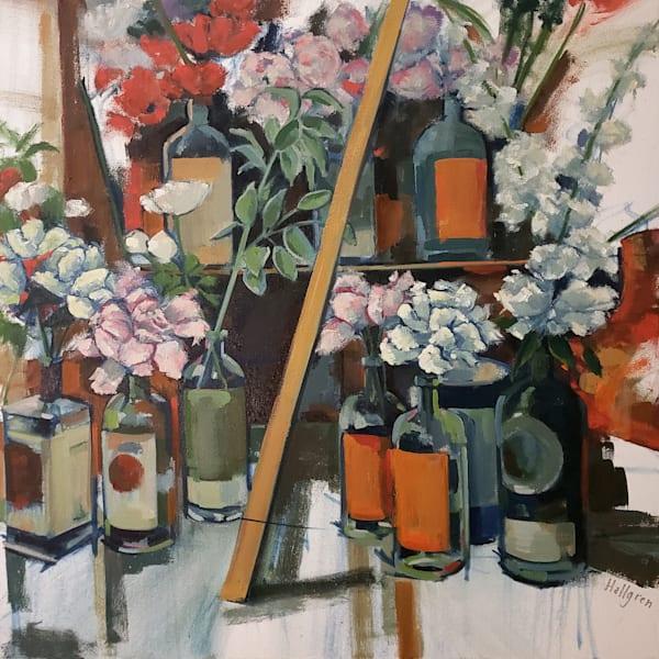 Bottle Garden Art   Jenn Hallgren Artist