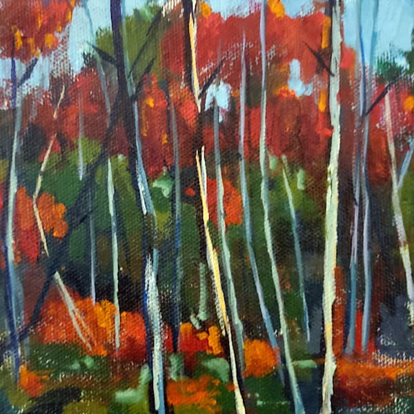 Mini Forest 2 Art   Jenn Hallgren Artist