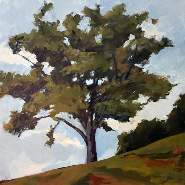 Lonely Tree/Winterthur Art | Jenn Hallgren Artist