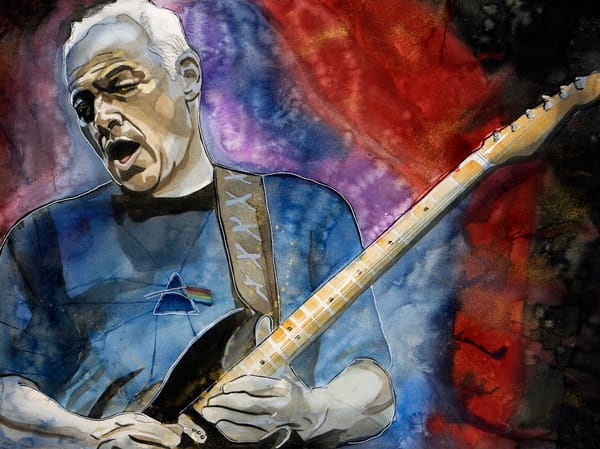 David Gilmour Lf Art | William K. Stidham - heART Art