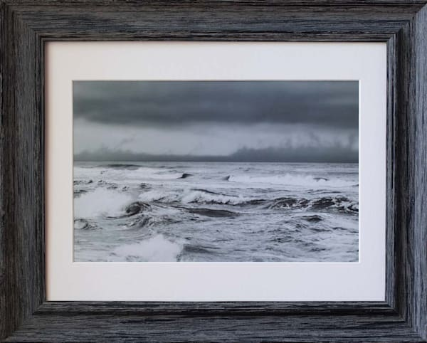 Stormy Seas In Black And White Photography Art | Silver Sun Photography